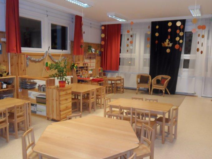 Piros csoportszoba