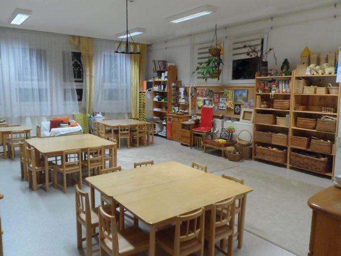 Sárga csoportszoba